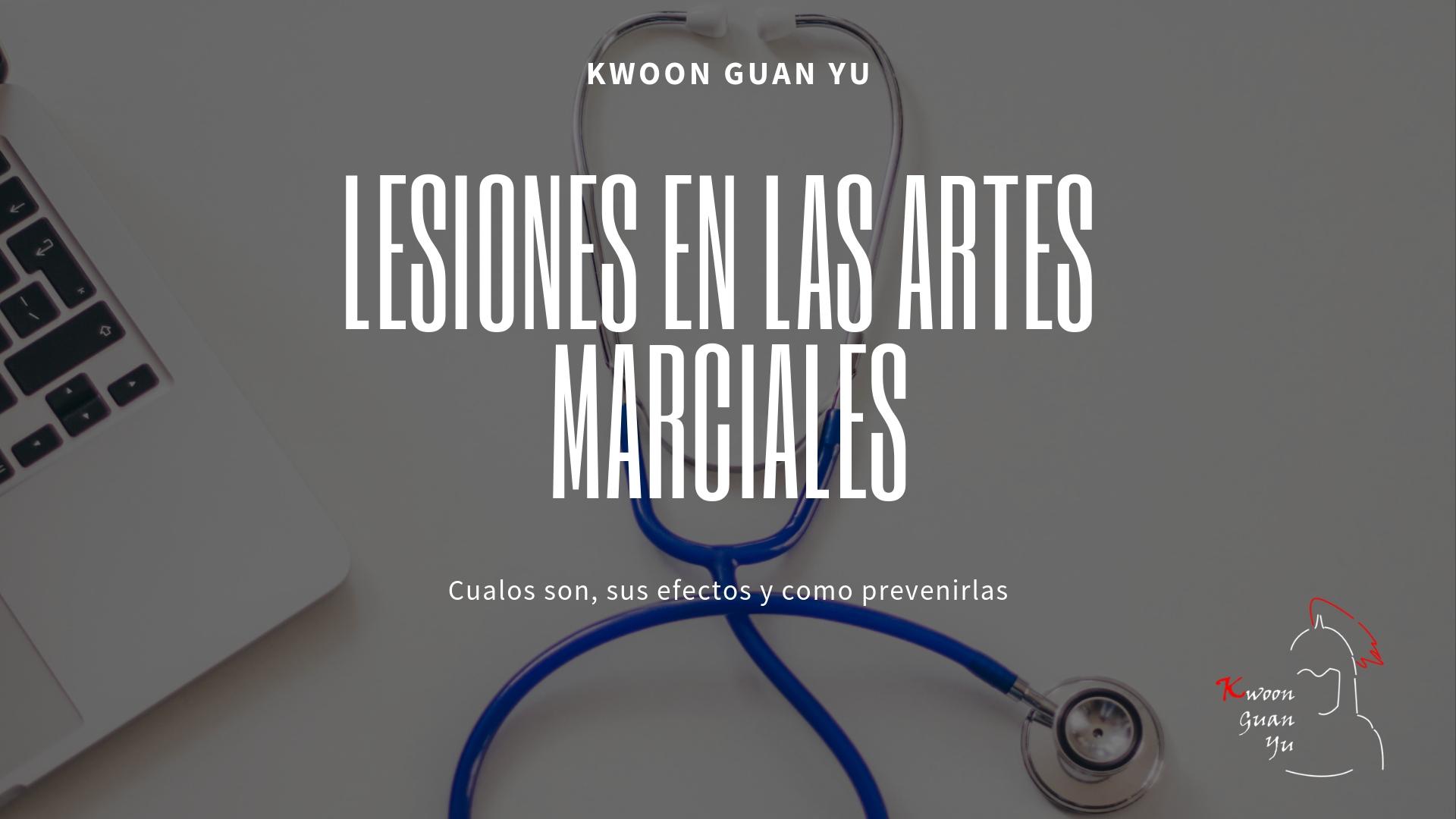 Lesiones Artes Marciales